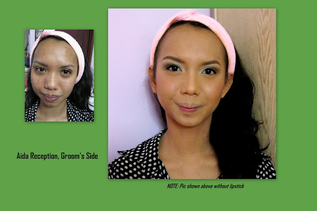 Natural pengantin makeup