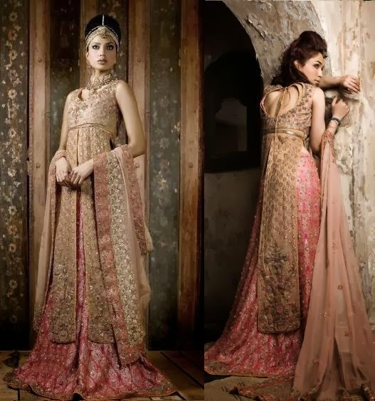 Latest bridal dresses for asian girls from the collection for Asian bridal wedding dresses