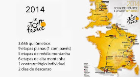 Tour de France 2014 a mais famosa e uma das mais importantes provas do ciclismo mundial