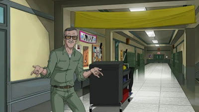 Ultimate Spider-Man Stan Lee cameo