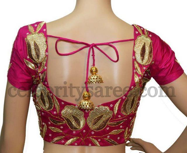 latest blouse designs 2013 saree blouse patterns