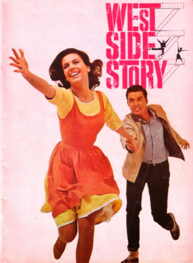 A Vintage Nerd, Vintage Blog, Classic Romance Movies, Classic Film Blog, Old Hollywood Blog, West Side Story
