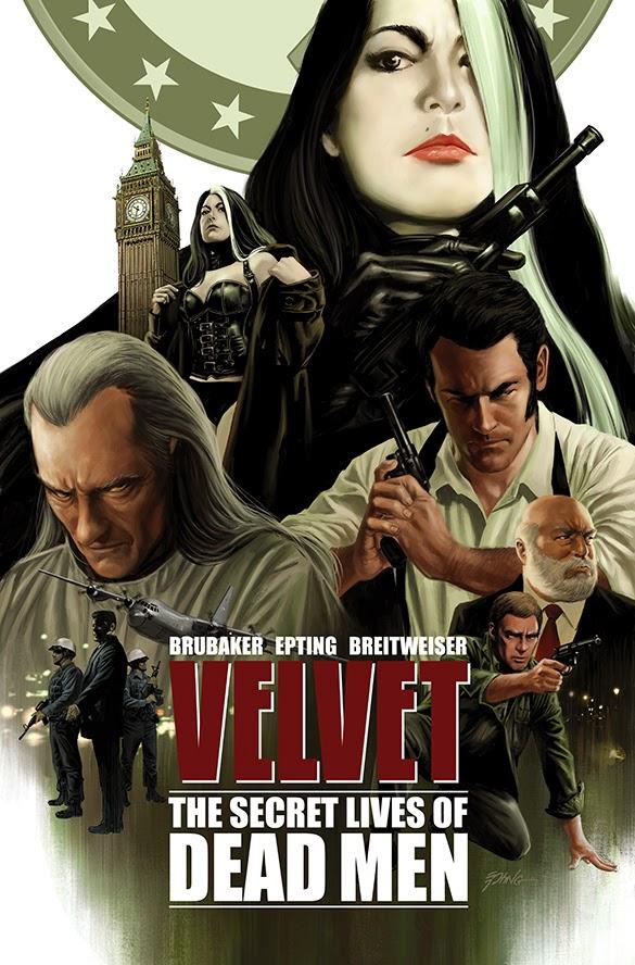 Velvet: The Secret Lives of Dead Men by Ed Brubaker, Steve Epting, and Betty Breitweiser