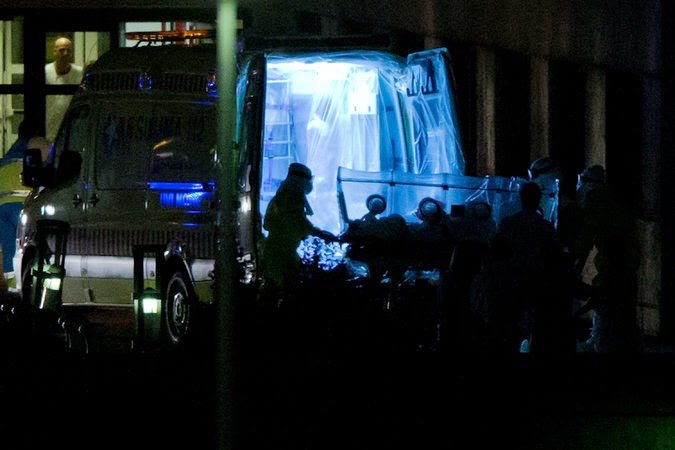 la prensa internacional y el ébola en españa