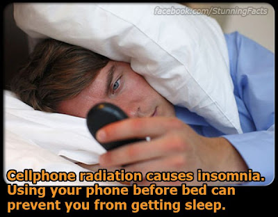 CELLPHONE RADIATION TRIGGERS INSOMNIA