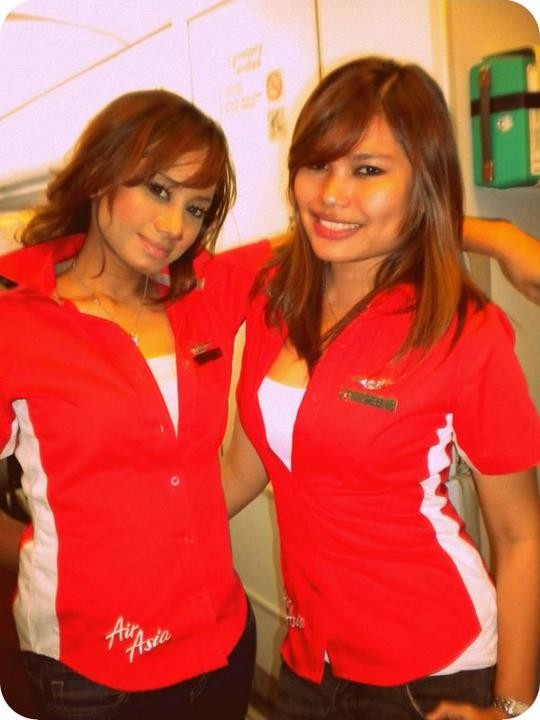 images of Malay Women Pramugari Air Asia