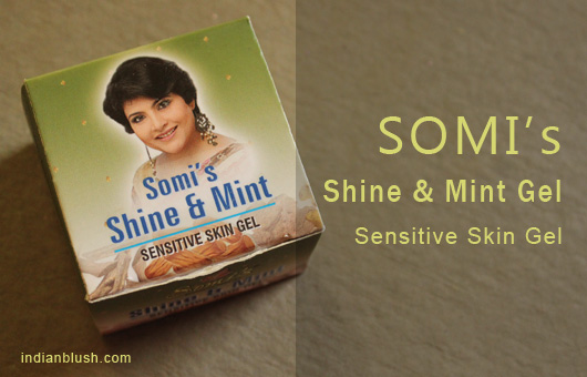 Somi's Shine & Mint Gel for Sensitive Skin
