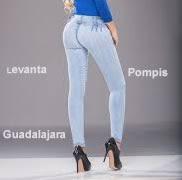 Jeans pompis arriba marca mexicana original venta de mayoreo paqueteria segura