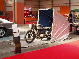 Motocicleta alemana de la II Guerra Mundial marca Victoria
