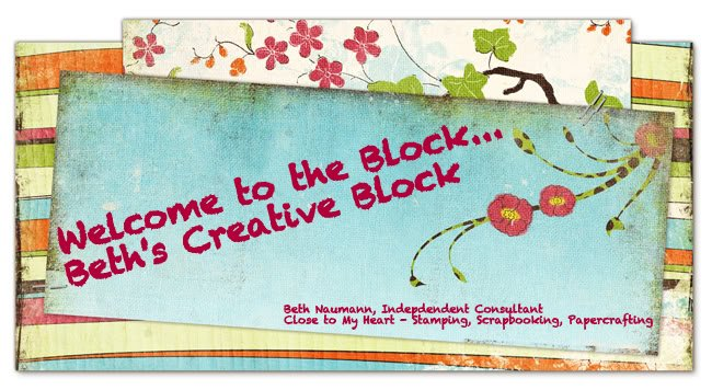 Beth&#39;s Creative Block!