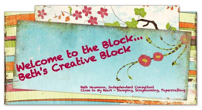 Beth's Creative Block!