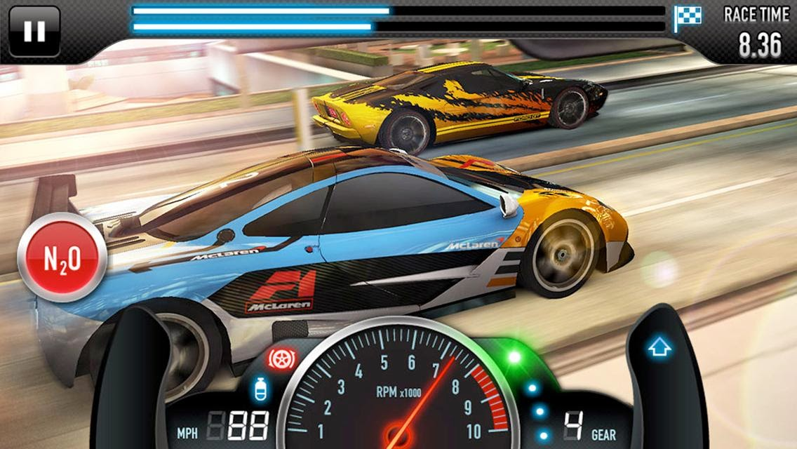 Download Cheat CSR Racing 2.5.0 Apk [Unlimited Money]