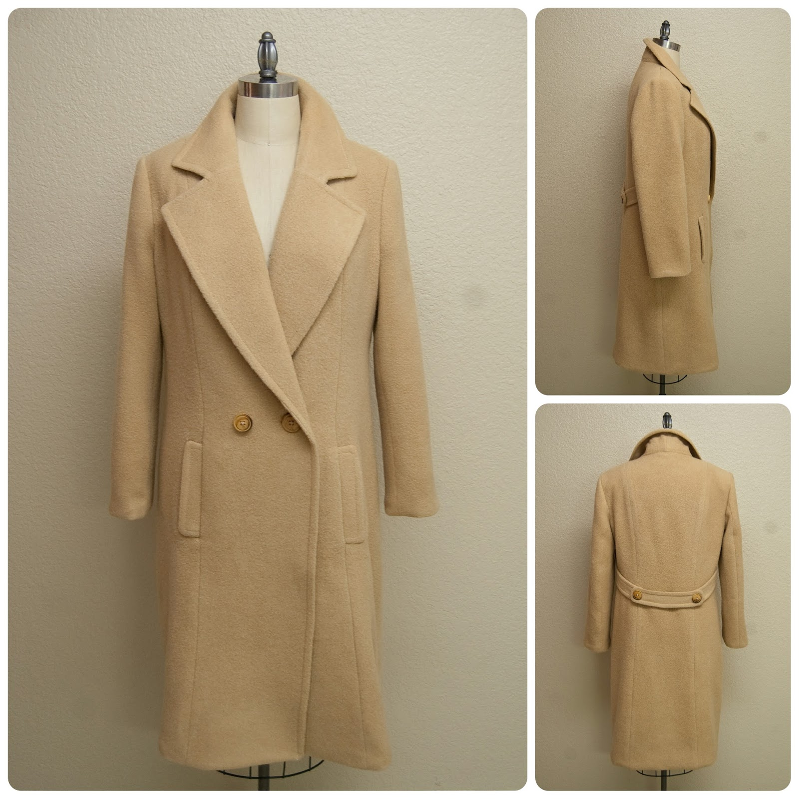 A Classic Camel Hair Coat - Mood Sewing Network