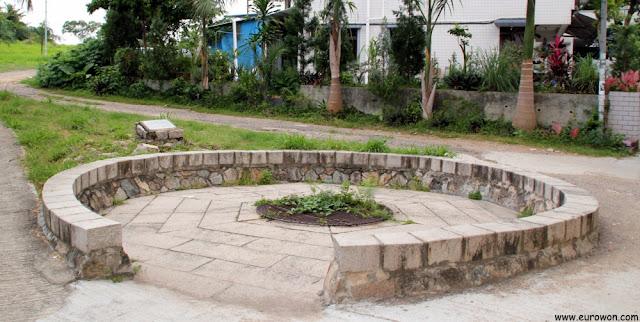 Antiguo pozo de la zona, hoy clausurado