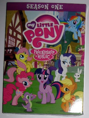 Front cover of the MLP:FiM S1 DVD box set