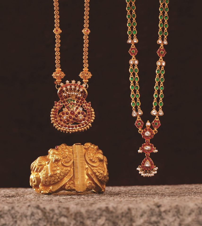Indian Gold Jewellery From Websites For: Indian Jewellery And Clothing: Ruby Studded Jewellery From