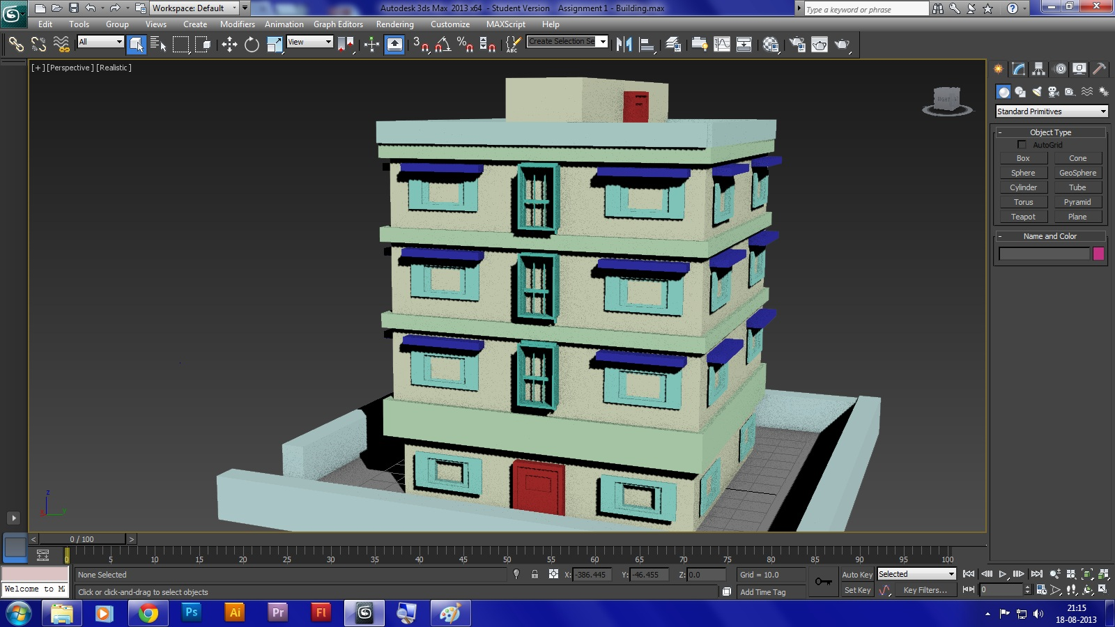Building design autodesk 3ds max lightening vfx for 3ds max design