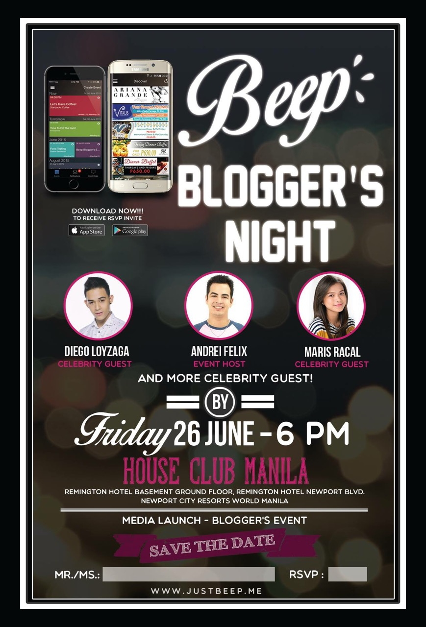 Beep Bloggers Night