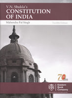 12th edition, revised by Mahendra Pal Singh, Eastern Book Company, Lucknow, 2013, Pages 1236, Rs.770.