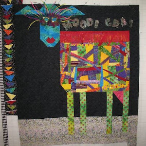 Kim B&#39;s COW quilt!