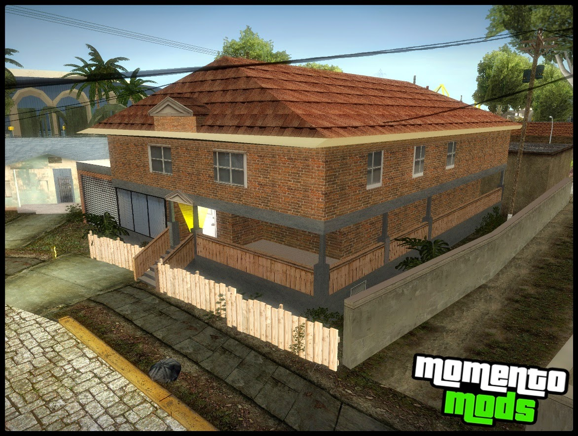 GTA SA - Mod Nova Textura da Casa do CJ HQ V2