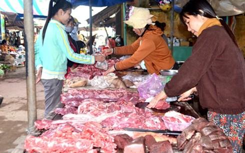 Thịt nhiễm khuẩn Samunera được bày bán tràn lan