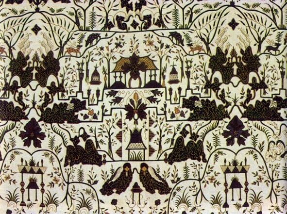 Batik Cirebon, Taman Arum Sunyaragi