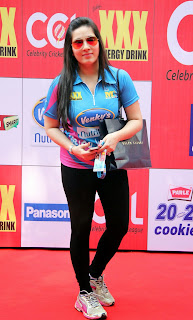 Celebrities Pictures at CCL Season 5 Mumbai Heroes Vs Veer Marathi Match CCL5  15.JPG