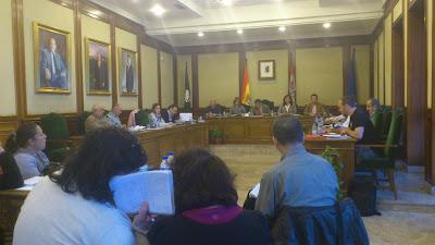 Sesion del pleno del ayuntamiento de Béjar