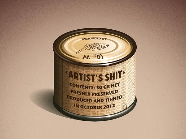 Tin Can Packaging Design
