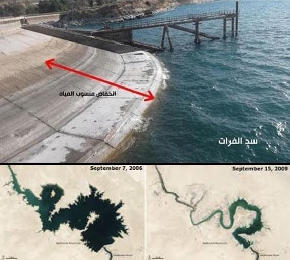 sungai eufrat mengering