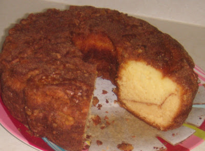 Grandma S Cinnamon Walnut Coffee Cake Recipe