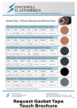 Gasket Tape Touch Brochure from Stockwell Elastomerics