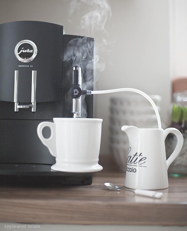 Cappuccino Jura Küche