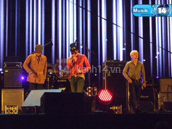 Big Bang's Rehearsal for Soundfest 2012
