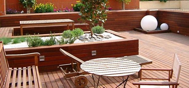 Multinotas decoraci n de terrazas muebles y accesorios for Ideas para terrazas baratas