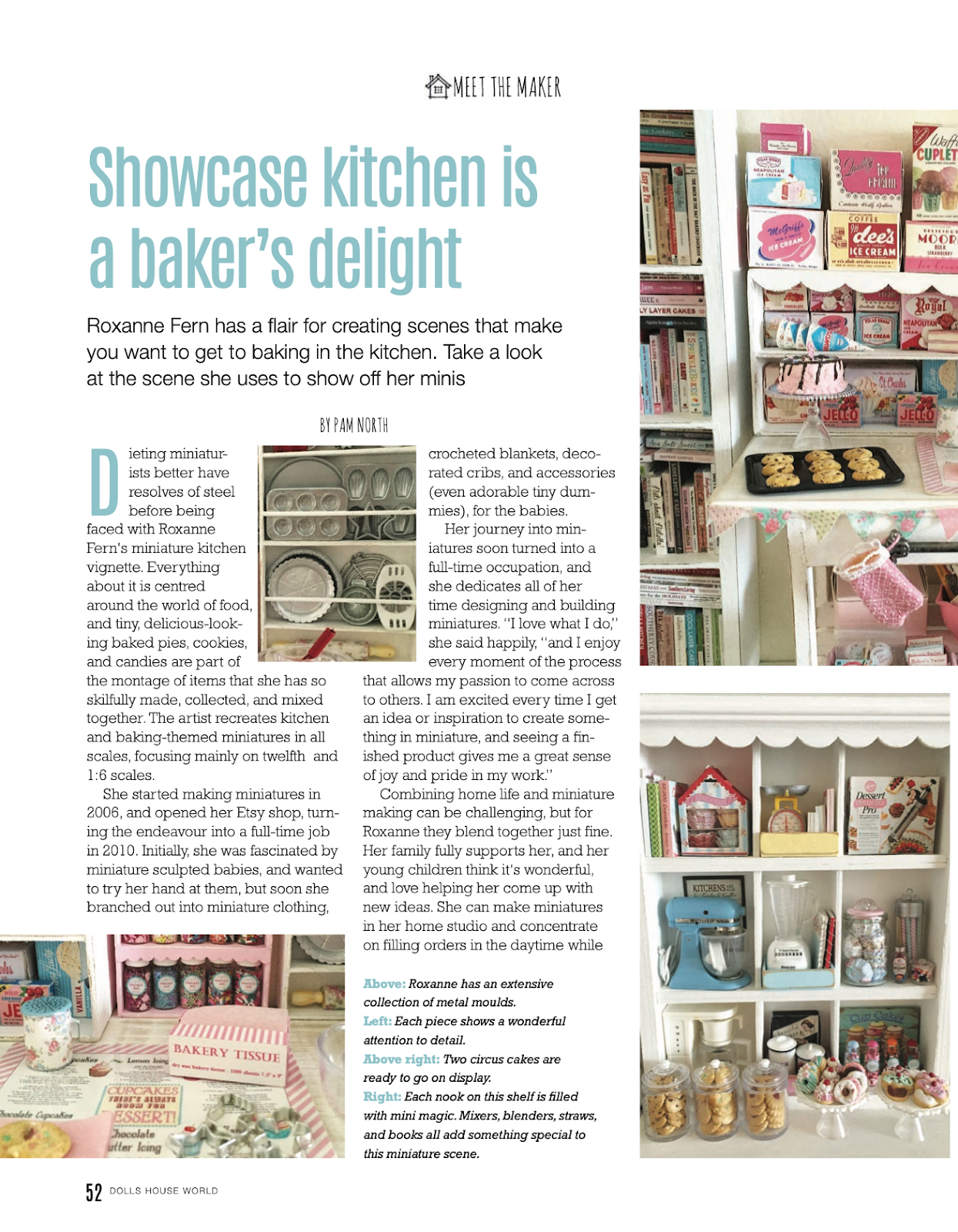 DollsHouse World MAGAZINE November 2019 ISSUE #326