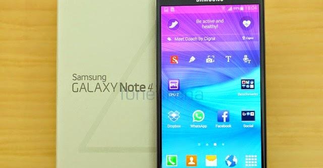 Lộ diện Galaxy Note 4 Pro