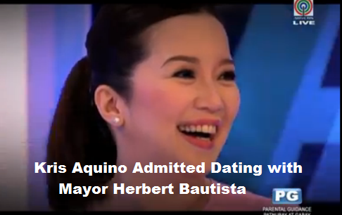 Kris Aquino Admitted Dating with Mayor Herbert Bautista