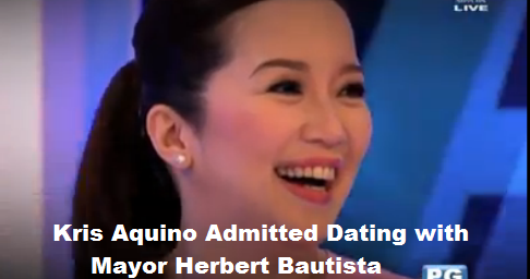 kris admits dating herbert Read: kris aquino deletes family photo with qc mayor herbert bautista on instagram statement from her and herbert kanina sa aquino and abunda tonight ay.