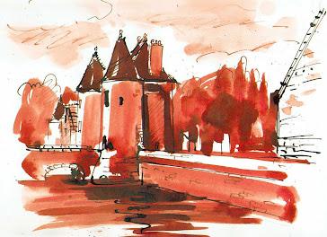 Le château de Belesbat