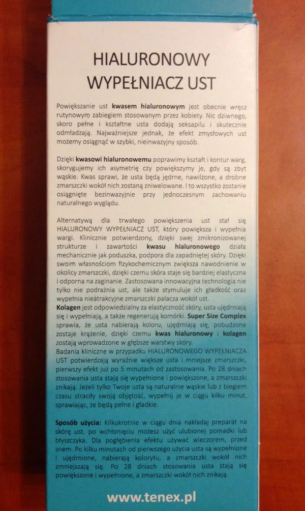 wypelniacz ust dermofuture