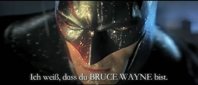 Trailer oficial de Batman: Arkham City, E3 2011