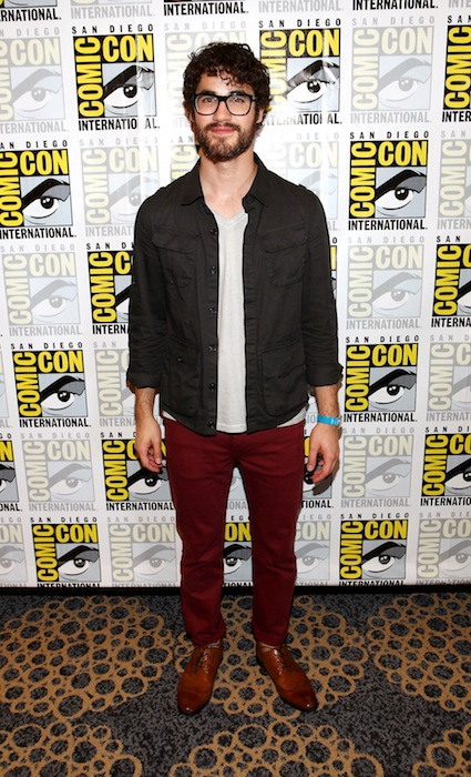 Darren Criss look and style