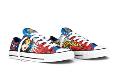 Wonder Woman Converse shoes