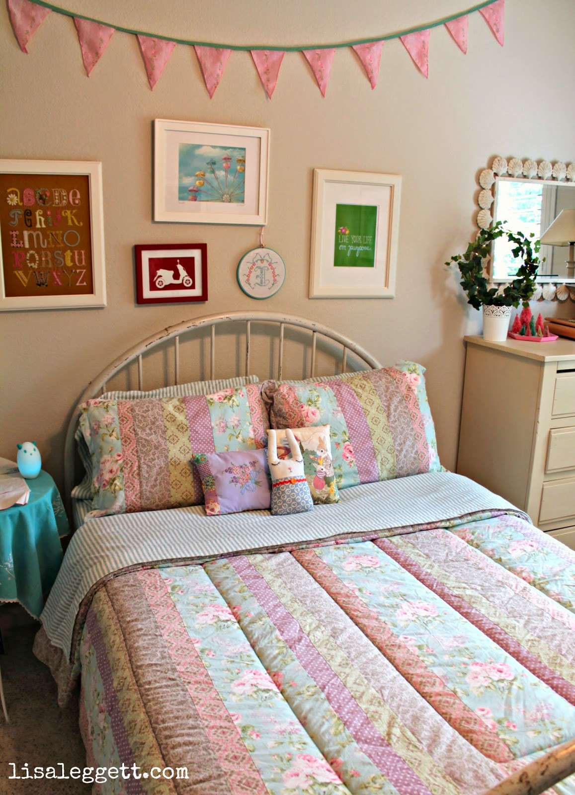 Spring in the Guest room by Lisa Leggett