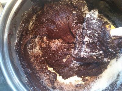 chokolade muffins med flydende indre