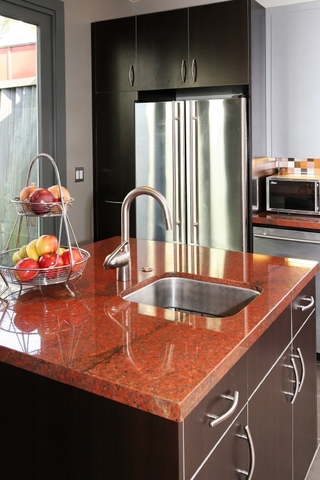 Red Countertop Materials : Delorme Designs: SEEING RED!! RED COUNTERTOPS.