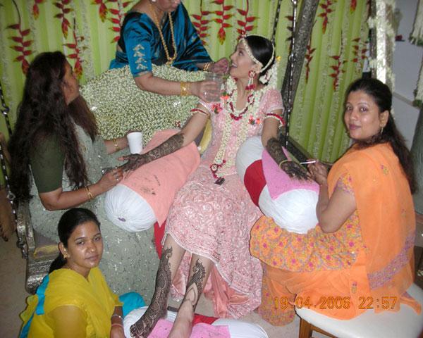 Mehndi Ceremony Of Kajol : Celebrity weddings aishwarya rai wedding pics