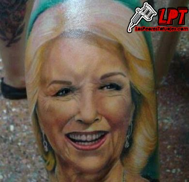 Tatuaje de Mirtha Legrand